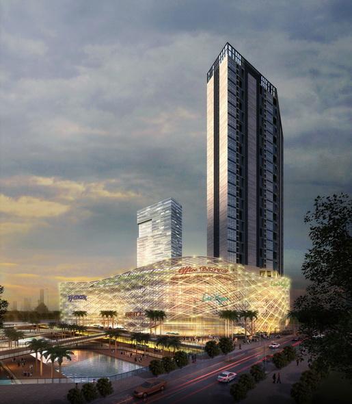 精品项目 超高层建筑 南昌天虹商业综合体项目
