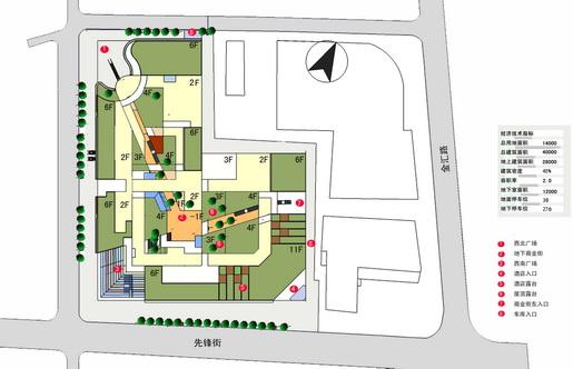 5万平方米   设计时间:2012年    项目概况      整个商业街区以大