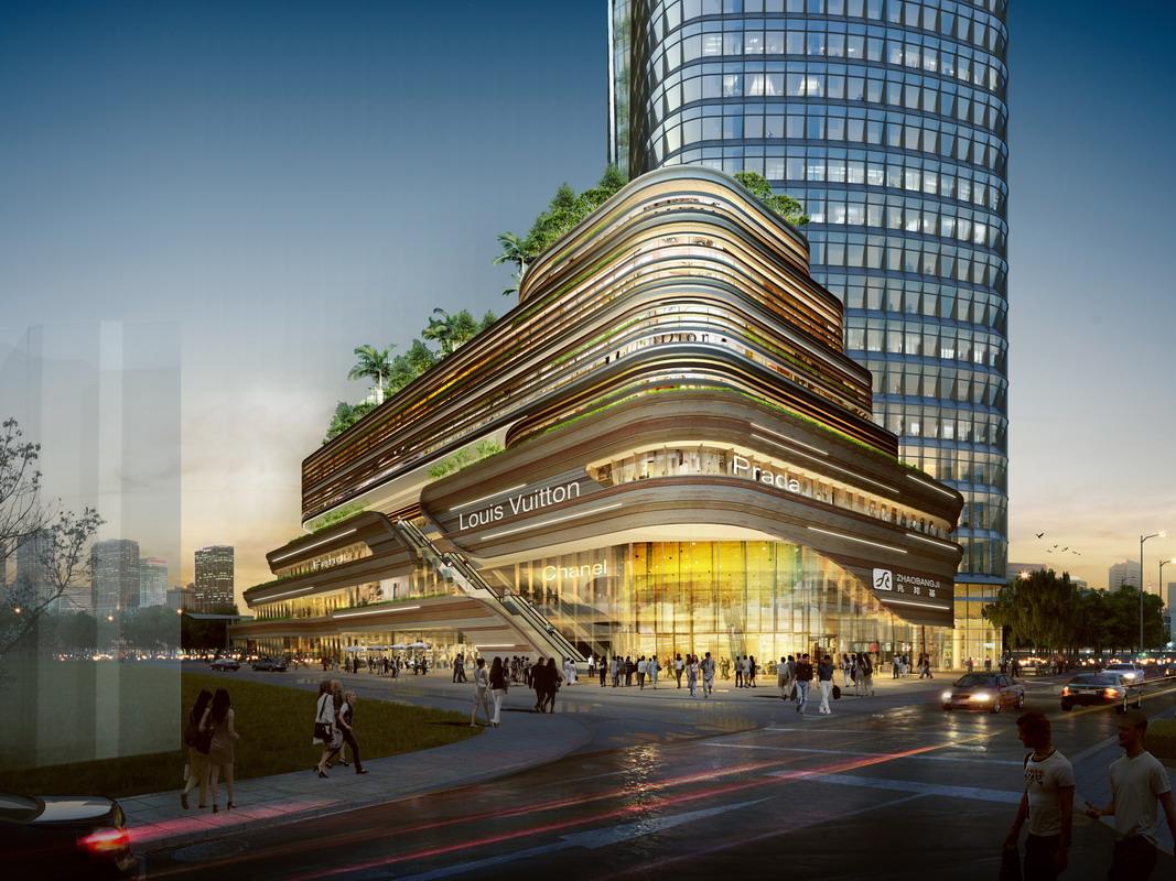 项目位于深圳市前海高新产业园区周边月亮湾大道与东滨路交汇处,项目用地面积近1.6万平方米,总建筑面积约24万平方米。项目的设计秉承生态、活力、健康、可持续的先进发展理念。在细节处理上,充分体现了以人为本的精神,城市花园的设计,为城市注入活力和绿意,展现了对城市的人文关怀,体现了建筑与城市环境的相辅相成。