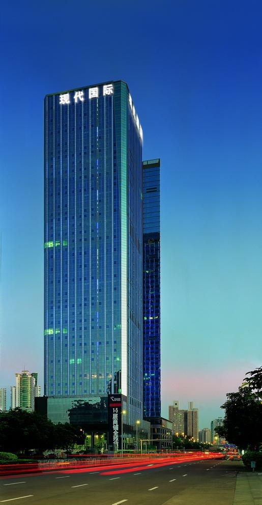 深圳现代商务大厦-精品项目-奥意建筑工程设计有限公司